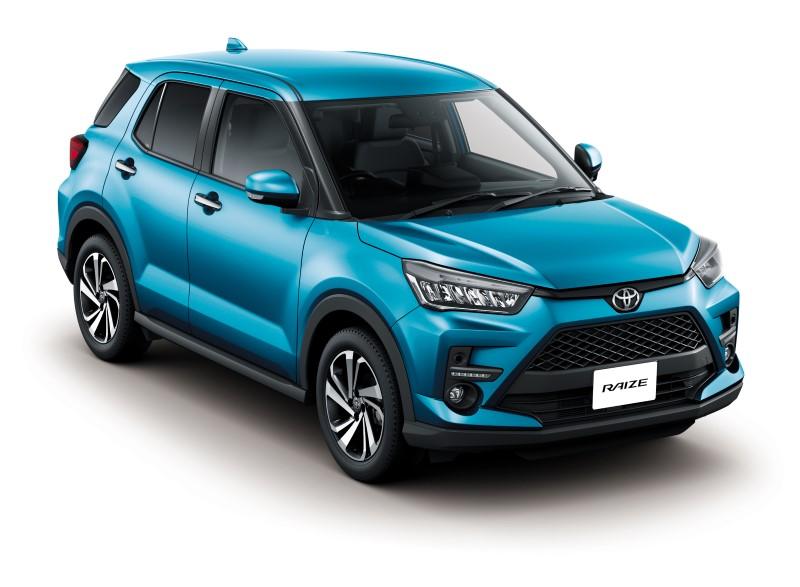 Toyota เปิดตัว Raize เอสยูวีขนาดเล็กลุยตลาดในบ้าน