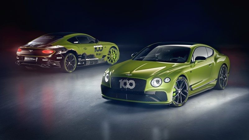 Bentley Continental GT Limited Edition ตามรอยความสำเร็จการสร้างสถิติที่ Pikes Peak