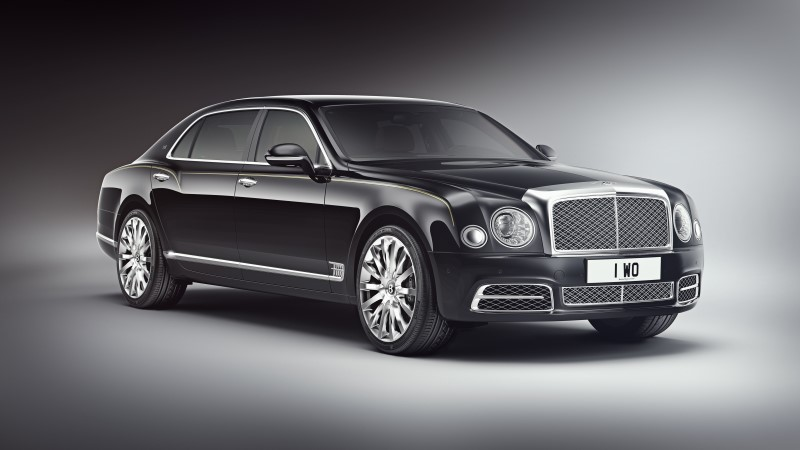 Bentley Mulsanne Extended Wheelbase Limited Edition รุ่นพิเศษสำหรับเศรษฐีแดนมังกร