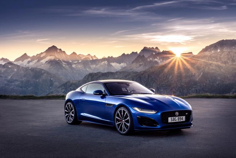Jaguar F-Type ปรับโฉมใหม่ให้สปอร์ตขึ้น