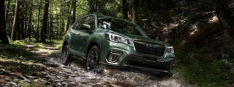 Subaru Forester X-Edition เสริมอุปกรณ์เพื่อความสบายใจการลุย
