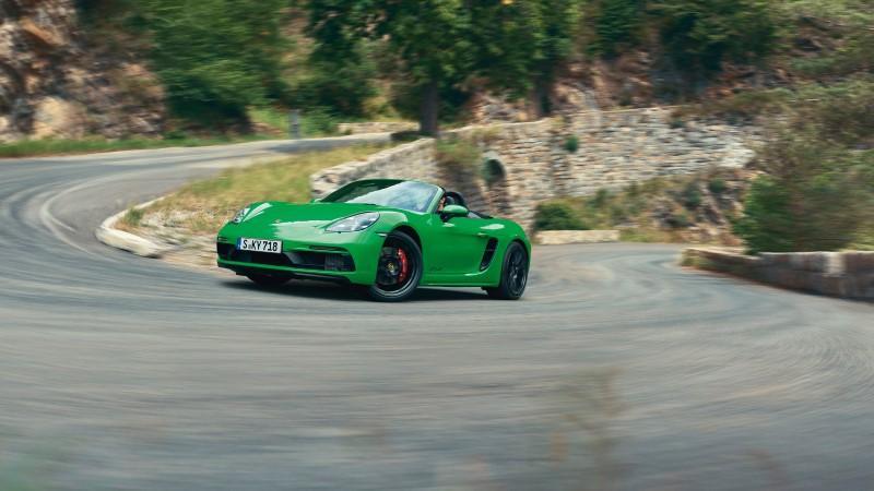 Porsche 718 GTS 4.0 ทางเลือกใหม่กับเครื่องยนต์หายใจเองความจุมากขึ้น
