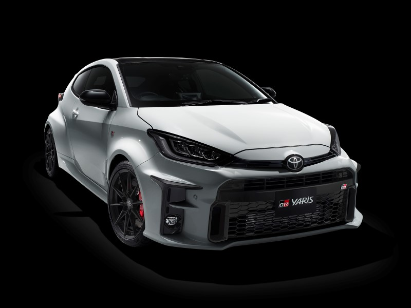 Toyota GR Yaris แฮทช์แบ็กรุ่นแรงสายพันธุ์แรลลี