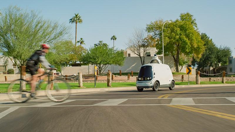 NHTSA อนุญาติให้รถส่งสินค้าขับขี่อัตโนมัติ Nuro ใช้งานได้