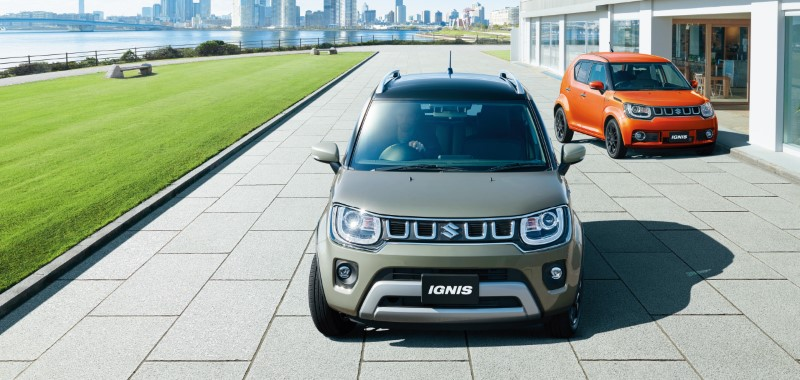 Suzuki Ignis Hybrid MF รถเล็กบึกบึนด้วยการแต่งสไตล์เอสยูวี