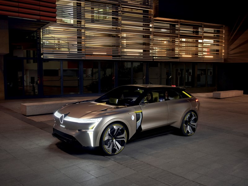 Renault Morphoz รถคอนเซ็ปต์ที่ปรับขนาดและระยะการเดินทางได้