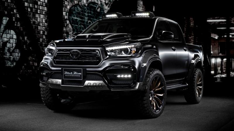 Toyota Hilux Black Bison Edition ดุและเข้มจาก Wald
