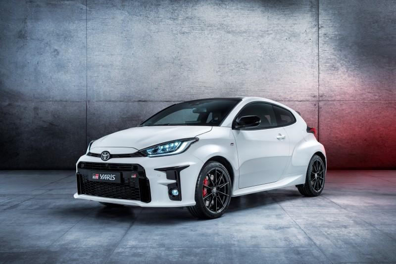 Toyota เริ่มทำตลาด GR Yaris ในยุโรป