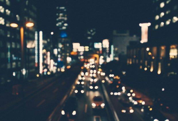 ขับรถในเวลากลางคืน